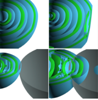 Curvature-Based Crease Surfaces for Wave Visualization