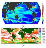 Visualization and analysis of eddies in a global ocean simulation