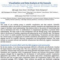 Visualization and data analysis at the exascale