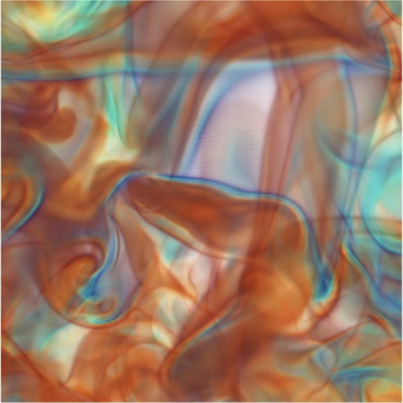 Remote Visual Analysis of Large Turbulence Databases at Multiple Scales